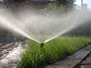 Устройство систем автоматического полива газонов и растений