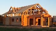 Готовые деревянные дома из сруба Купить в Одессе сруб