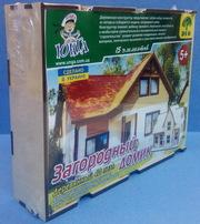 Деревянные пазлы 4Д «Загородный домик» лазерная резка собственное прои