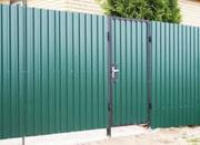 Забор+Калитка из профнастила