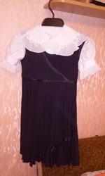 Продам бу школьный сарафан + блузка (Одесса)