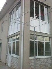 Металлопластиковые окна,  натяжные потолки