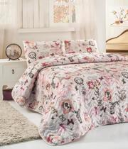 Покрывало полуторное купить Eponj Home Madame розовое 160*220