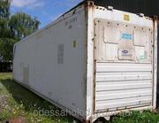 Изотермический контейнер 40 футов б/у рефконтейнер