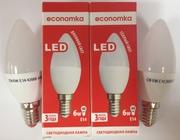 Светодиодная лампа CN LED 6W E14 Economka (свеча)