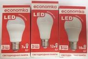 Светодиодная лампа А60 LED 7,  10,  12W Е27 Economka