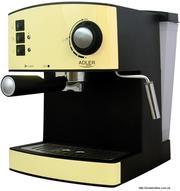 Кофеварка Adler AD 4404 (3 цвета)