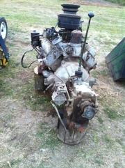 Двигатель Зил 130 в разобранном виде