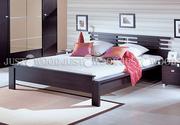 двухспальная кровать Да Винчи из натурального дерева