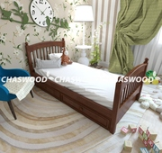 Кровать Тесса из натурального дерева