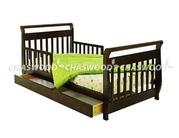 детская кровать Лия и Лия-2 натуральное дерево