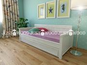 Детская кровать Джульетта из натурального дерева