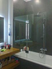 Шторки для ванной стекло