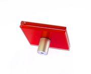 Стеклянные триплексованные ручки для фасадов из МДФ и алюминия