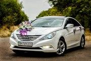 Авто  на свадьбу Huyndai Sonata YF (ful) 2012 г