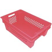 Пластиковые ящики под овощи фрукты ягоды грибов мяса рыбы 600х400х200