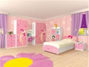 Мебель для детской спальни Мульти Фея