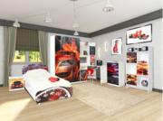 Мебель для детской спальни Мульти Гонки