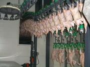 мясник,  работник куриного мясокомбината(Польша)