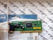 D-Link DFE-520TX. Cетевой PCI-адаптер с 1 портом 10/100Base-TX.