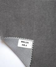Потолочные велюровые ткани на поролоновой подложке