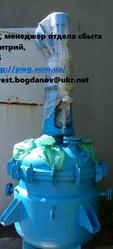 Продам реактор 0.63м3 синяя эмаль