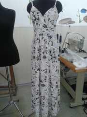 Платье в пол,  ткань софт