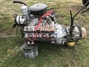 Двигатель Газ 53 первой комплектности с коробкой передач