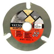 Универсальный пильный диск Vatzo MultiCut 125мм на болгарку (УШМ)