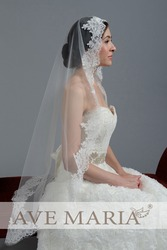Свадебная фата-испанка(длина 1 м, доступно от 1 м до 3 м)