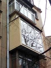 Расширение балконов,  ремонт балкона в Одессе