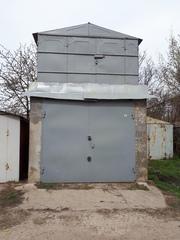 кирпичный гараж в 2 этажа с кирпичным сухим подвалом