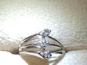 Кольцо с бриллиантами 0. 20 карата