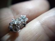 Серьги пусеты с бриллиантами 0. 25 карата