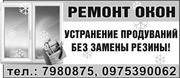 Ремонт и регулировка окон,  дверей Одесса