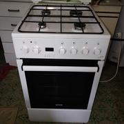 Продам газовую плиту Gorenje K55303AW (как новая) 49л Гриль Конвекция