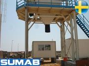 Зимний Стационарный бетонный завод Sumab