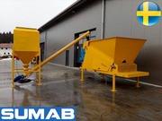 Мобильный бетонный завод Sumab Mini