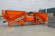 Мобильный бетонный завод Sumab F-2200