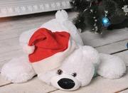 Мягкая игрушка медведь лежачий