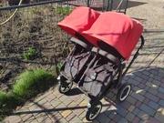 Продам детскую коляску для двойни или близнецов