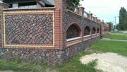 Купить забор из гранита в Одессе,  столбы и блоки к нему.