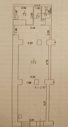 Продам кафе в Одессе 71 м,  зал 54 м,  1 этаж,  центр